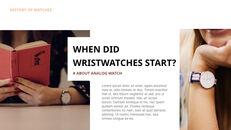 過去から現在まで:時計について 最高のキーノートのテンプレート_05