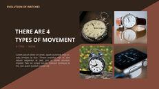 過去から現在まで:時計について 最高のキーノートのテンプレート_12