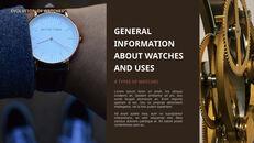 過去から現在まで:時計について 最高のキーノートのテンプレート_13