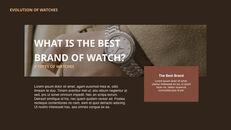 過去から現在まで:時計について 最高のキーノートのテンプレート_14