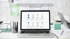 파워포인트 템플릿-사무실 노트북 모형_05