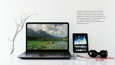 파워포인트 템플릿-사무실 노트북 모형_08