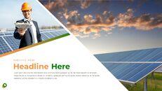 태양 에너지 프레젠테이션용 Google 슬라이드 테마_23