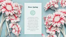 봄 메시지 PPT 포맷_22