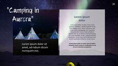 캠핑 PowerPoint 프레젠테이션 템플릿_20
