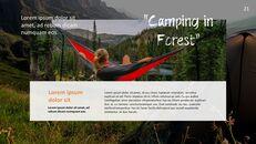 캠핑 PowerPoint 프레젠테이션 템플릿_21