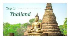 태국 여행 프레젠테이션을 위한 구글슬라이드 템플릿_03