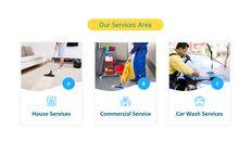 Modelli animati - Presentazione PPT del servizio di pulizia_07