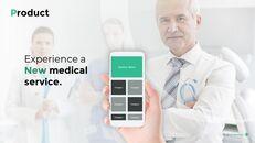 의료 서비스 피치덱 파워포인트 프레젠테이션 애니메이션 템플릿_10