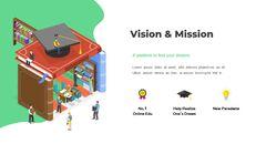 オンライン教育サービス最高のPowerPointプレゼンテーションアニメーションスライド_04