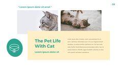 애완 동물 생활 심플한 파워포인트 템플릿 디자인_09