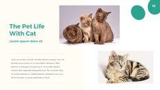 애완 동물 생활 심플한 파워포인트 템플릿 디자인_10