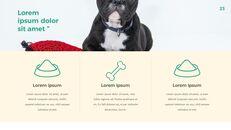 애완 동물 생활 심플한 파워포인트 템플릿 디자인_23