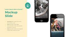 애완 동물 생활 심플한 파워포인트 템플릿 디자인_39