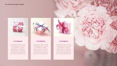 카네이션 꽃과 선물 피피티 템플릿 디자인_11