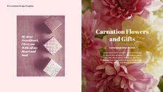 카네이션 꽃과 선물 피피티 템플릿 디자인_14