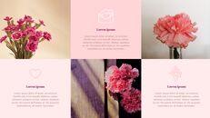 카네이션 꽃과 선물 피피티 템플릿 디자인_15