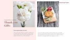 카네이션 꽃과 선물 피피티 템플릿 디자인_23
