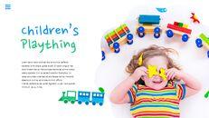 행복한 어린이날 편집이 쉬운 슬라이드 디자인_03