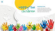 행복한 어린이날 편집이 쉬운 슬라이드 디자인_06