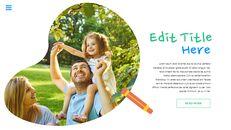 행복한 어린이날 편집이 쉬운 슬라이드 디자인_21