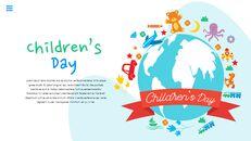 행복한 어린이날 편집이 쉬운 슬라이드 디자인_23
