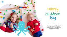 행복한 어린이날 편집이 쉬운 슬라이드 디자인_25