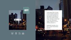 도시의 야경 테마 키노트 디자인_07