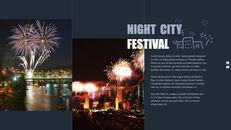 도시의 야경 테마 키노트 디자인_09