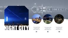 도시의 야경 테마 키노트 디자인_17