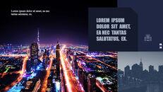 도시의 야경 테마 키노트 디자인_20
