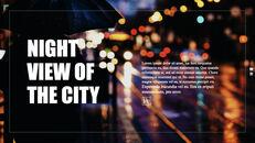 도시의 야경 테마 키노트 디자인_21
