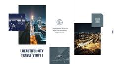 도시의 야경 테마 키노트 디자인_25