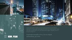 도시의 야경 테마 키노트 디자인_27