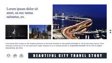 도시의 야경 테마 키노트 디자인_28