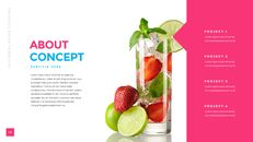 열대 음료 템플릿 PPT_19