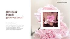 카네이션 꽃과 선물 키노트 템플릿_06