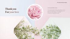 카네이션 꽃과 선물 키노트 템플릿_09