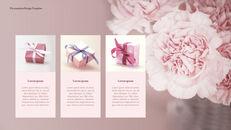카네이션 꽃과 선물 키노트 템플릿_11