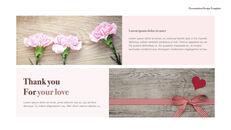 카네이션 꽃과 선물 키노트 템플릿_21