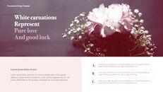카네이션 꽃과 선물 키노트 템플릿_26