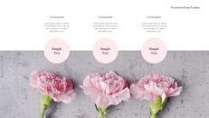 카네이션 꽃과 선물 키노트 템플릿_29