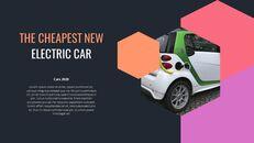 전기차 Google 슬라이드 템플릿 다이어그램 디자인_22