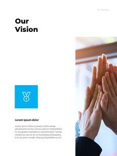 연간 보고서 맞춤형 구글 슬라이드_09