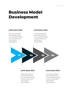 연간 보고서 맞춤형 구글 슬라이드_14