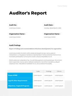 연간 보고서 맞춤형 구글 슬라이드_20