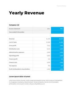 연간 보고서 맞춤형 구글 슬라이드_24