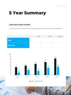 연간 보고서 맞춤형 구글 슬라이드_29