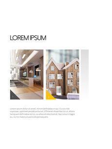 Architecture Vertical Design PPT Background_04