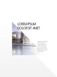 Architecture Vertical Design PPT Background_06